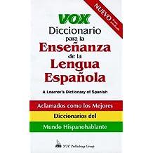 Vox Diccionario Para La Ensenanza De La Lengua Espanola