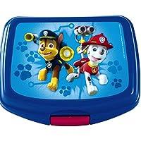 Unbekannt Paw Patrol Brotbox Brotdose Lunchbox in Blau mit Klickverschluss Leichtes Material Vesperdose Frühstücksbox für Kinder preisvergleich bei kinderzimmerdekopreise.eu