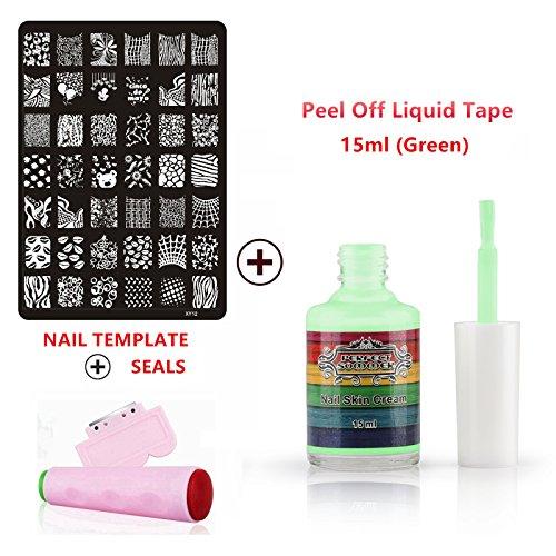 perfect-summer-nails-kunst-edelstahl-vorlage-mit-multi-designs-patterns-rosa-stempel-platte-und-scha