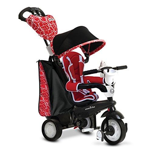 smarTrike Chic Tricycle bébé 4 en 1 Noir / Rouge
