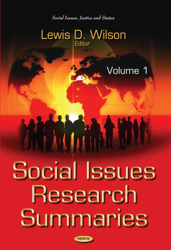 Social Issues Research Summaries: 1 (Social Issues, Justice and Status)