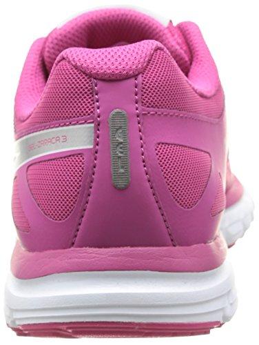 ASICS - Gel-Zaraca 3, Scarpe Da Corsa da donna 2193-Raspberry/Silver/Purple