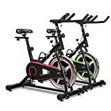 Indoor Cycling Exercise Bike JLL IC200, Direct Chain Driven 10kg Flywheel with Adjustable Friction Resistance, 3-Piece Crank, 5-Function Monitor, Ergonomic Handlebars and Fully Adjustable Seat, Built In Wheels, 12 Months Home Use Warranty Only
