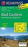Bad Gastein /Bad Hofgastein /Dorfgastein: Wanderkarte mit Kurzführer, Panorama, Radrouten und alpinen Skirouten. GPS-genau. 1:35000 (KOMPASS-Wanderkarten, Band 40)