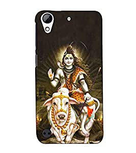 Fuson Designer Back Case Cover for HTC Desire 530 (Shankar Bhagvan on nandi )