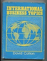 International Business Topics