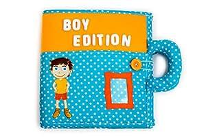 Livre tissu motricité, livre interactif, jouet éducatif, jouet handmade, jouet fait main, livre feutrine, quiet book, piqipi, livre garçon, livre 3 ans