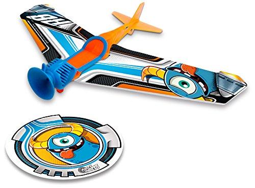 crazy-darts-dardo-con-ventosa-y-alas-de-espuma-r8-color-azul-y-naranja-blue-rockets-90001