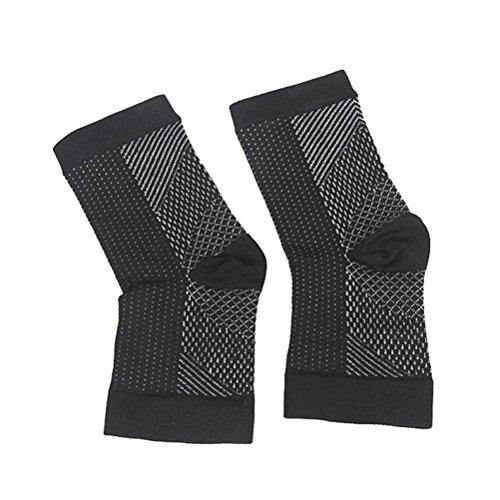 healifty Fuß Winkel Kompression Anti-Müdigkeit Fuß Sleeve Unisex Training Running Basketball Anti Müdigkeit Socke