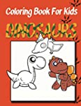 Coloring Book for Kids: Dinosaurs