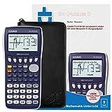 Casio FX-9750 G II + Original CalcCase GTR Schutztasche + Buch: Im Fokus II: Casio FX-9750GII verständlich erklärt
