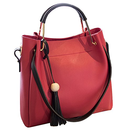 YYW Shoulder Bag, Borsa a mano donna red 1