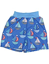 Splash About Collections Happy Nappy Boy's Board Shorts-Set Sail