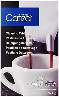 Urnex Cafiza Home Espresso Machine Cleaner Tablets, 8-Count Box