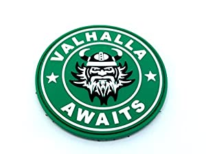 Valhalla Awaits Viking PVC Airsoft Patch