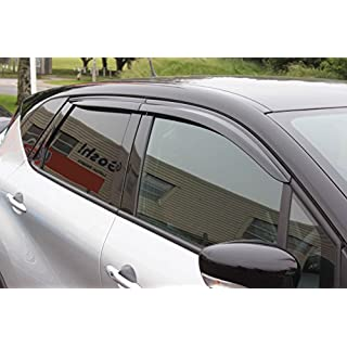 Autoclover Renault Captur Windabweiser-Set (4Stück) (geräuchert)