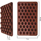 Silicone Moulds Chocolate Cake Cookie DIY Mold 55 Coffee Bean Shaped