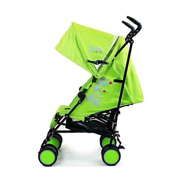 Zeta Citi Stroller Buggy Pushchair - Lime ZETA 12 Month FREE Warranty When Purchased and used from birth only. Warranty VOID If Purchased And Used For Babys Over 12 Months Lightweight stroller suitable for babies from Birth Umbrella fold for a compact folded size 4