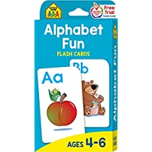Flash Cards - Alphabet Fun 52 Per Package (Pack of 3)