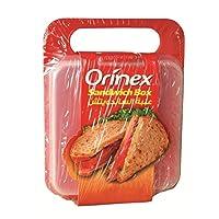 Orinex Sandwich Box Colour Label, 1 Piece, Clear