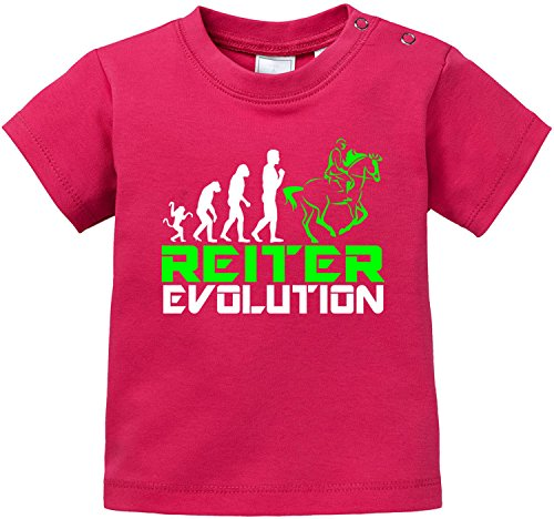 EZYshirt® Reiter Evolution Baby T-Shirt