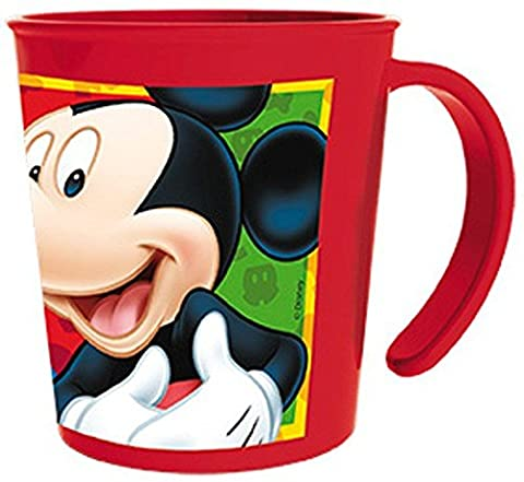 stor tasse en plastique empilable Couleurs Mickey, mcroondas ATPA.
