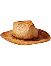 Henschel Men's Hiker Straw Hat, Raffia, Medium