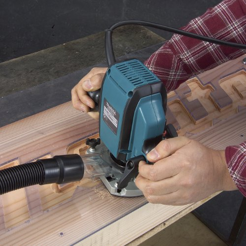 Makita RP0900K 1-1/4 Horsepower Plunge Router by Makita