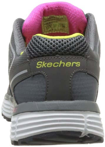 Skechers Agility Rewind, Baskets mode femme Gris (Ccyl)