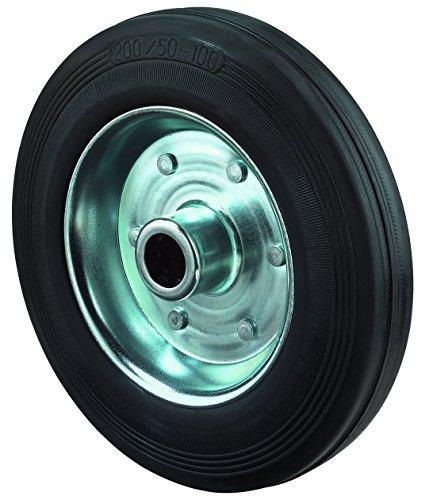 bs-ruedas-goma-rueda-acero-de-cuerpo-cojinetes-de-rodillo-200mm-negro-b55200