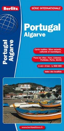 Portugal Algarve - Carte Routiere et Touristique