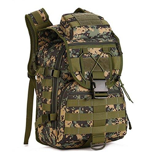 Mefly Pack Zaino Zaini Borsa 40L Piccolo Zaino Per Escursione Khaia Viaggi jungle