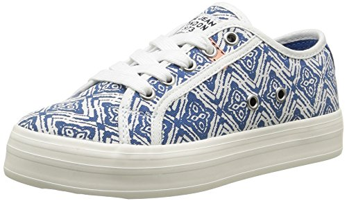 Pepe Jeans Hannah Print, Baskets Basses fille