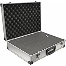 Maletín universal PeakTech P 7265 de aluminio tamaño XL (390x 280x 100mm)