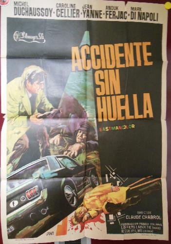 Poster - Cartel : ACCIDENTE SIN HUELLA.