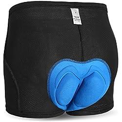 INBIKE Ropa Interior Ciclismo Gel Pantalones Cortos de Bicicleta para Hombres(M)