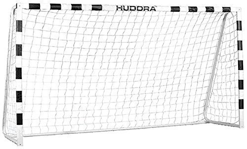 Hudora 76907 Fußballtor Stadium mit echten 200 cm Höhe Fussballtor Stadion