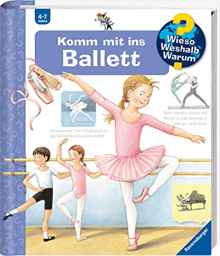 Kostüm Jungen Ballerina Für - Komm mit ins Ballett (Wieso? Weshalb? Warum?, Band 54)