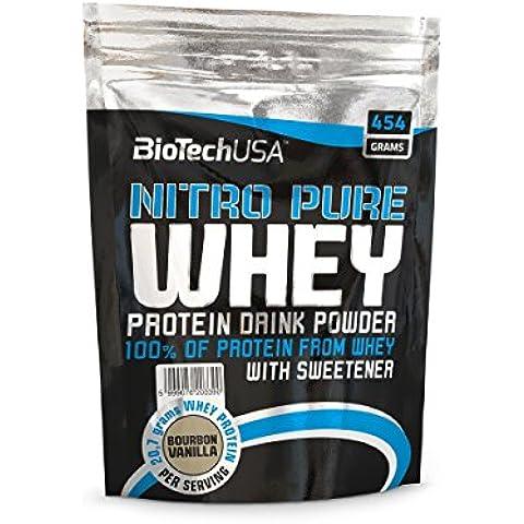 Biotech Usa Nitro Pure Whey Nocciole, Confezione da 1(1x (100% Pure L-glutammina In Polvere)