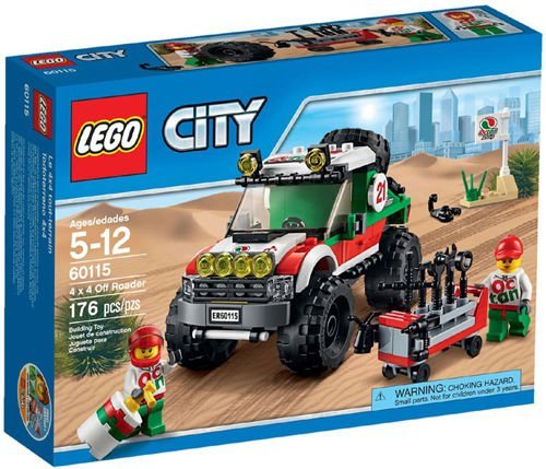 LEGO City Great Vehicles 60115 4 x 4 Off Roader Mixed Set Box Sealed #60115 /ITEM#G839GJ UY-W8EHF3161456 by WATER FANJOSE