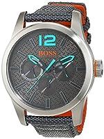 Hugo Boss Orange 1513379 - Reloj de pulsera analógico para hombre (correa de nailon, esfera con subdiales) de BOSS Orange