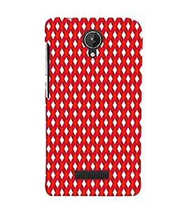 EPICCASE stripe daimonds Mobile Back Case Cover For Micromax Canvas Spark Q380 (Designer Case)
