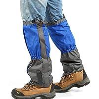 HUZHAO Polainas de Legging de Nieve al Aire Libre Tela Oxford 600D Anti-Tear Impermeable Transpirable Resistente al Desgarro para Senderismo al Aire Libre Senderismo Caza Escalada Montaña