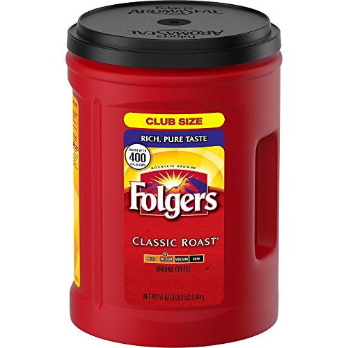 Folgers Coffee, Classic(Medium) Roast, 48 Ounce by Folgers