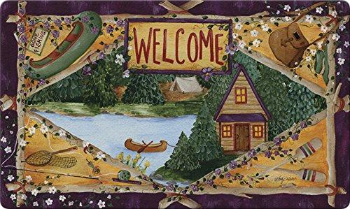 Toland Home Garden 830041 Lakeside Welcome Fußmatte, recycelt, 46 x 76 cm