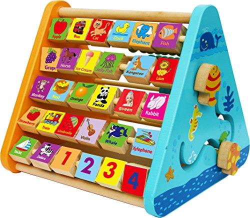 Toys of Wood Oxford aktivitäten center baby - holzspielzeug 1 (Kostüm Ideen Uhr)
