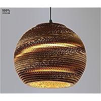 LLYY-Bozzoli del lampadario di carta kraft di