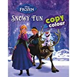 Disney Frozen Snowy Fun Copy & Colour