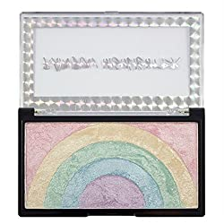Makeup Revolution Rainbow Highlighter, Multicolor, 10g