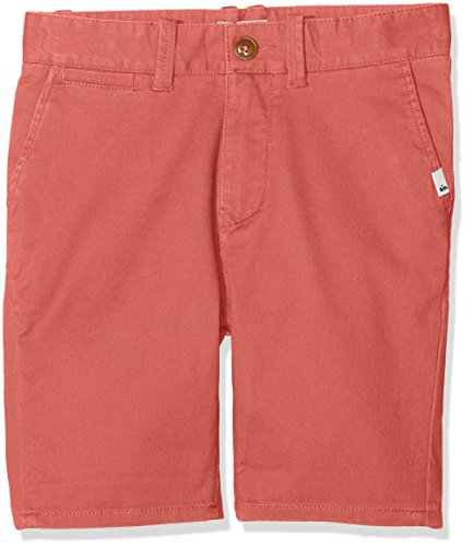 Kavallerie-twill (Quiksilver Jungen Shorts Krandyshyth B Wkst Mmz0, Rot (Mineral Red - Solid), XL)